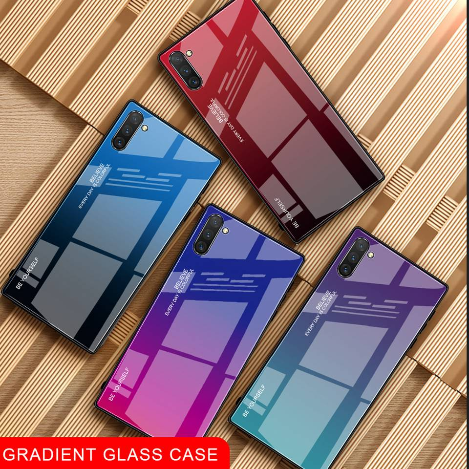 Luxury Glass Case For Samsung Galaxy Note 10 Pro 9 8 Note10 A50 A70 A50s A30s A30 A20 A10 J4 A7 2018 S8 S9 S10 Plus Phone Cover (12)