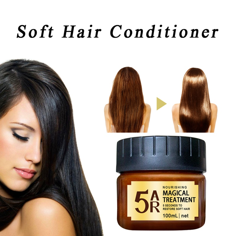 Hair Treatment Hair Straightening Repair Care Mask Smoothing Treatment Shiny Hair Conditioners 100ml