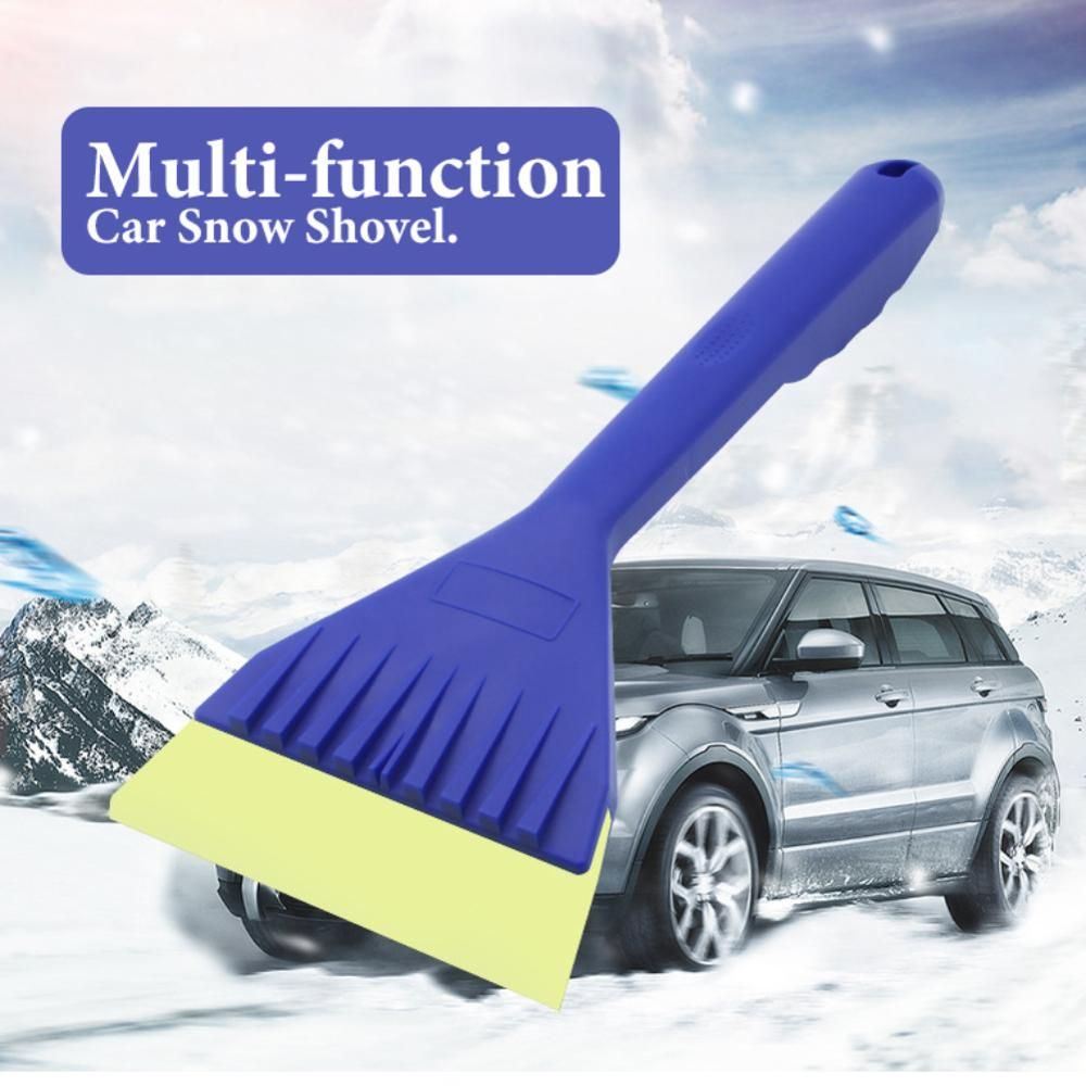 Car Vehicles Windscreen Window Snow Removal Brush Ice Scraper Shovel Durable