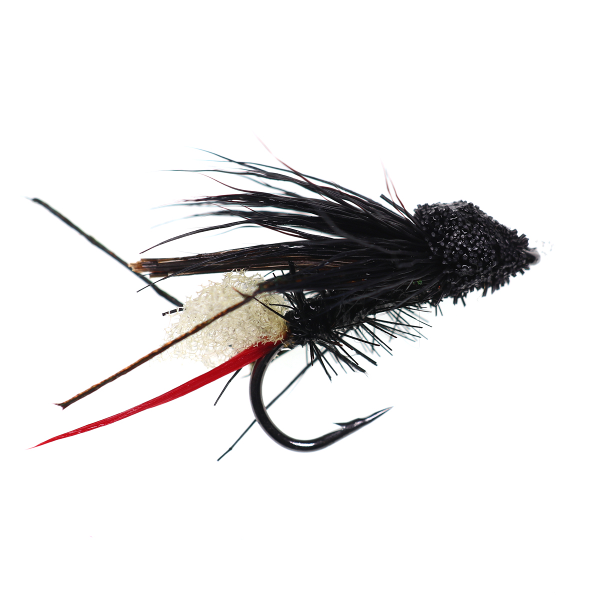 5PCS #10 Trout Fishing Fly Grass Hopper Fly terrestrial Hopper Fly Floating Bass Crappie Bug Bait Artificial Lure 22