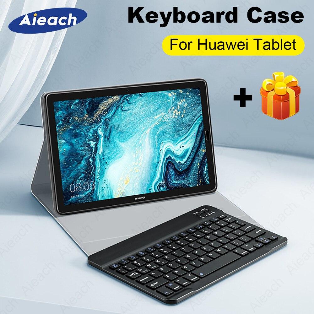 Étui pour Huawei Mediapad M5 Lite 10 M3 Lite 10.1 T5 étui pour clavier en cuir couverture complète pour Huawei Mediapad M5 Pro 10.8 M6