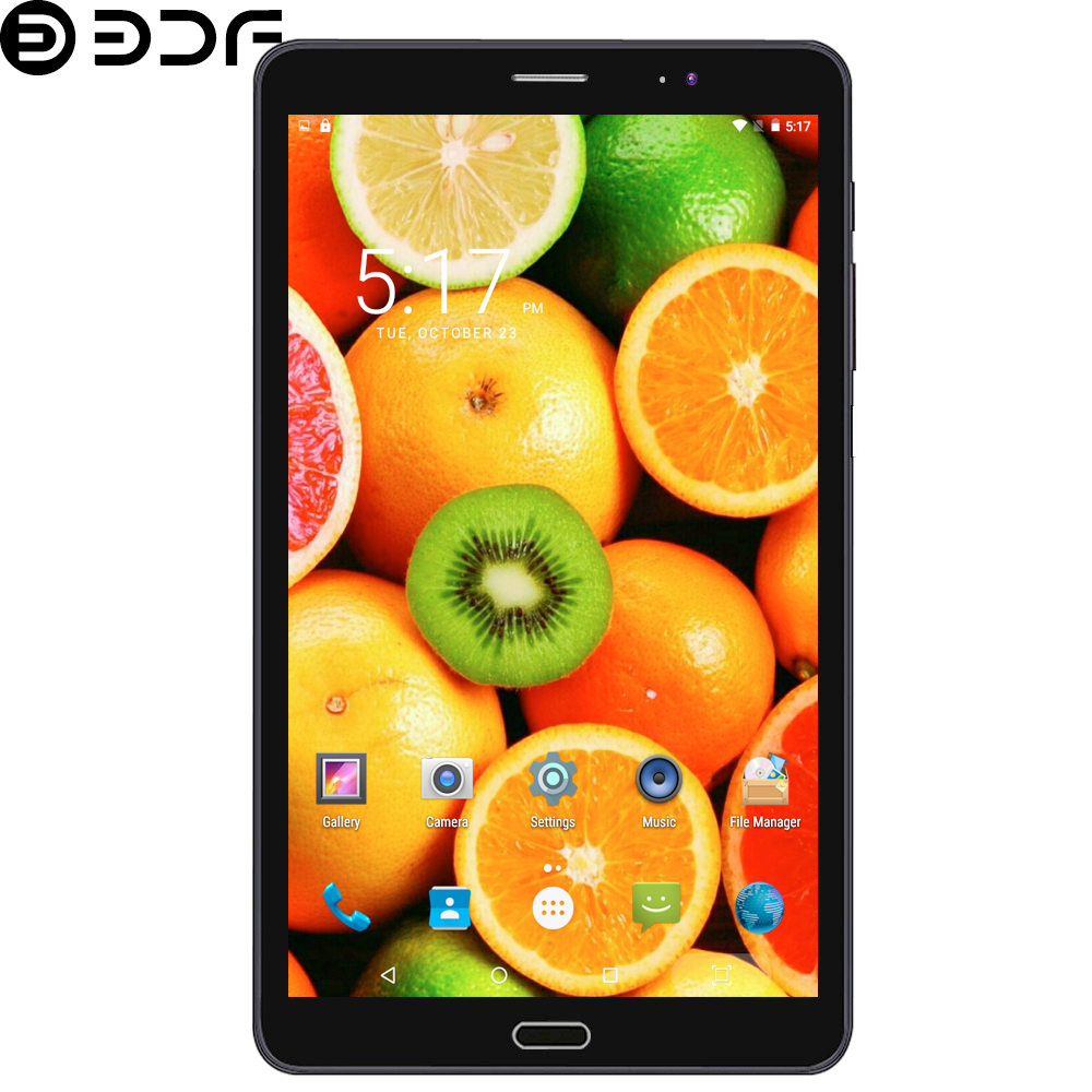 New 3G Mobile Phone 8 Inch WiFi Tablets Android 6.0 Quad Core Tablet Pc Built-in 3G Dual SIM Card WiFi Bluetooth Tab