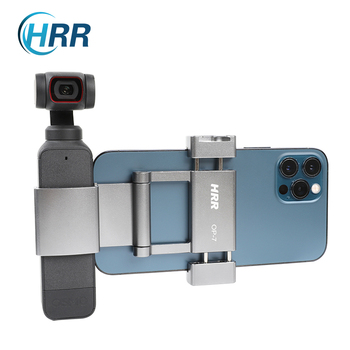 HRR OSMO Pocket Phone Holder Plus for DJI osmo Pocket 2 /Pocket 1 Clip Mount Accessories (Aluminum alloy) 1