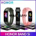 Huawei Honor Band 5i Smart Band Global Vers кровяный кислород трекер часы AMOLED Сна Фитнес Плавание Спорт Бег трекер