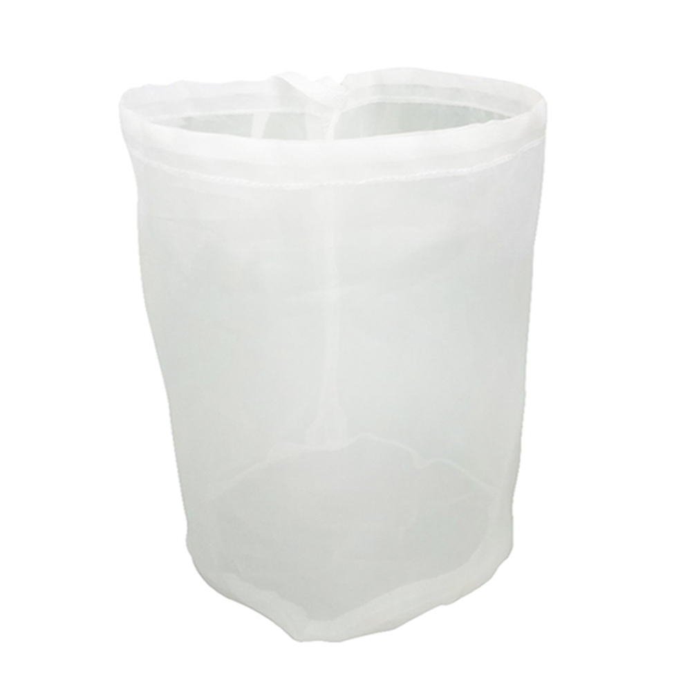 قابلة لإعادة الاستخدام الرباط مصفاة شبكة جعة منزلية الصنع تختمر مرشح نبيذ حقيبة الشاي الجوز عصير الفاكهة الحليب مرشح شبكي حقيبة صافي 8 الحجم