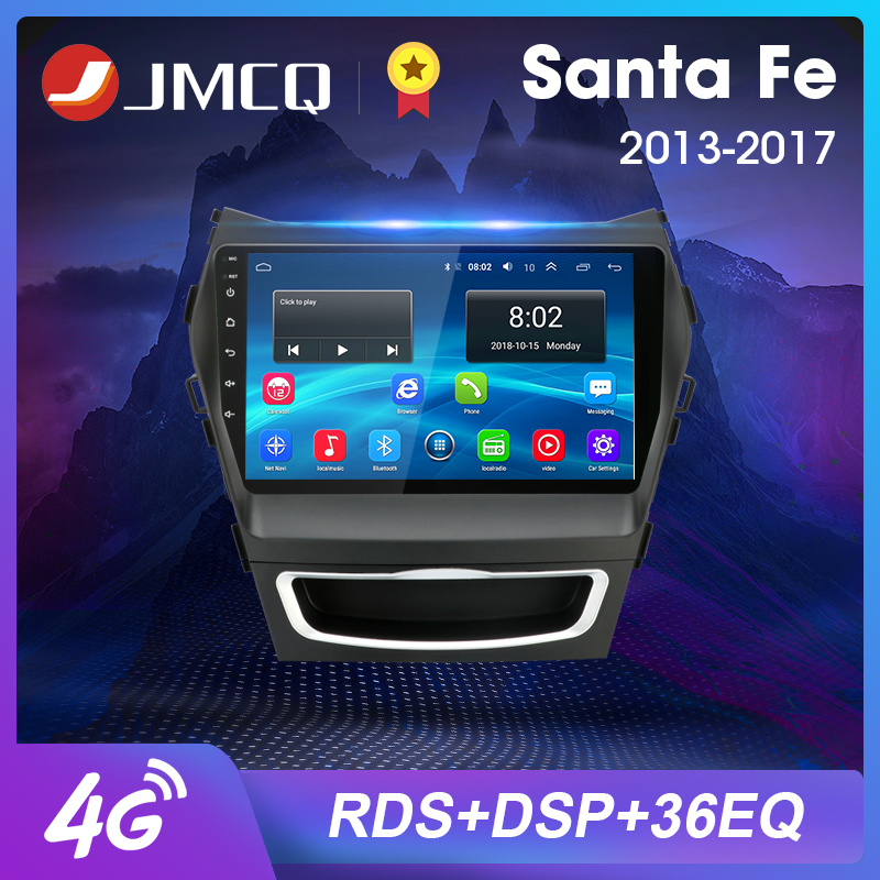 2 Din Автомобильный Радио Мультимедиа Android видео плеер навигация GPS для Hyundai Santa Fe 3 Grand 2013-2017 автомобильный аудио Система головное устройство