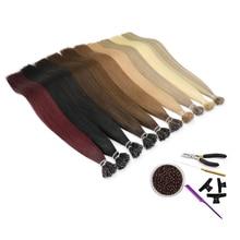 """Mrs cabelo nano extensões de cabelo 12 """"máquina remy micro anel nano grânulo cabelo pré ligado micro ligação extensões de cabelo 50 pçs 100 pçs"""