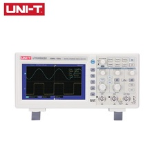 UNI-T UTD2052CEX Digital Storage Oscilloscope 2CH 50MHz Bandwidth 1GS/s Sample Rate LCD Displays USB Interface Oscilloscope 1pc dso1200 handheld portable usb oscilloscope scope dmm 200 mhz 500msa s 5 7 2ch