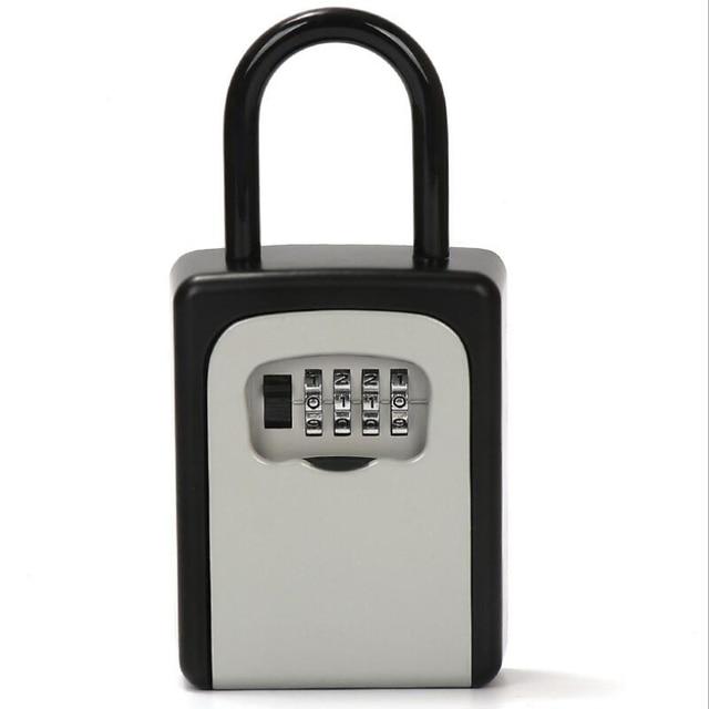 New Door Handle Key Box Password Decoration Code Lock Delivery Key Storage Password Boxes