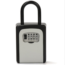 Yeni kapı kolu anahtar kutusu şifre dekorasyon kodu kilit teslimat anahtar saklama şifre kutuları