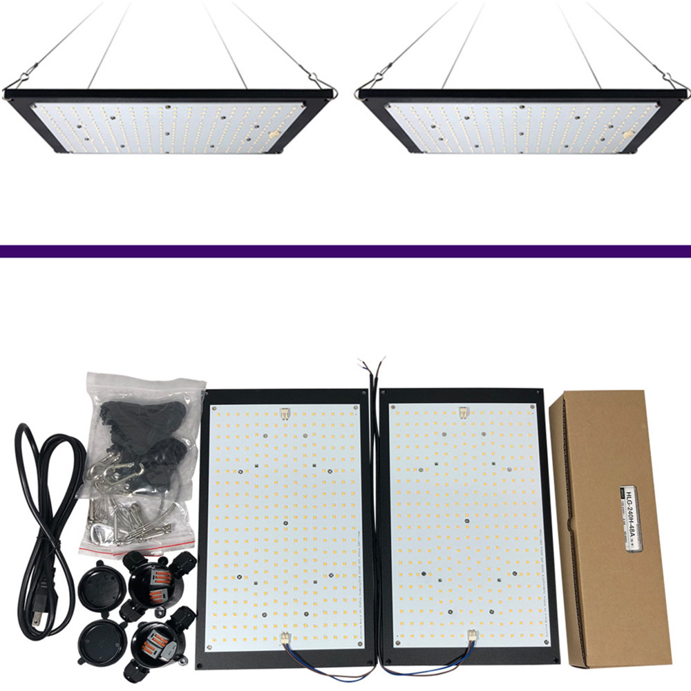 240W Samsung Quantum Board LM301B QB288 AC 110V/220V Meanwell Driver DIY Full Spectrum Indoor LED Grow Light For Veg And Bloom