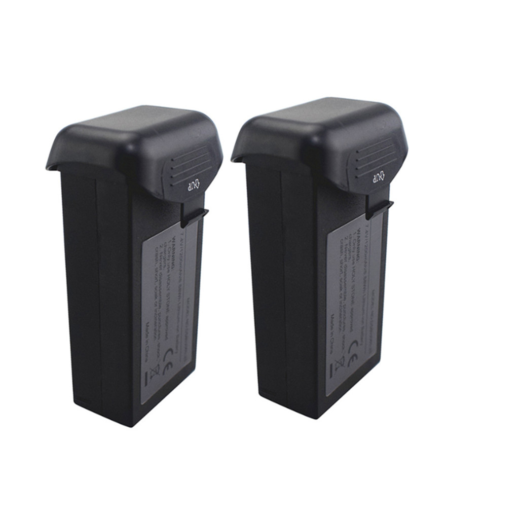 2PCS 7.4V 1200mah Lithium Battery For HS120D Folding Brushless Quadcopter GPS Return Flight Drone Lithium Battery Accessories