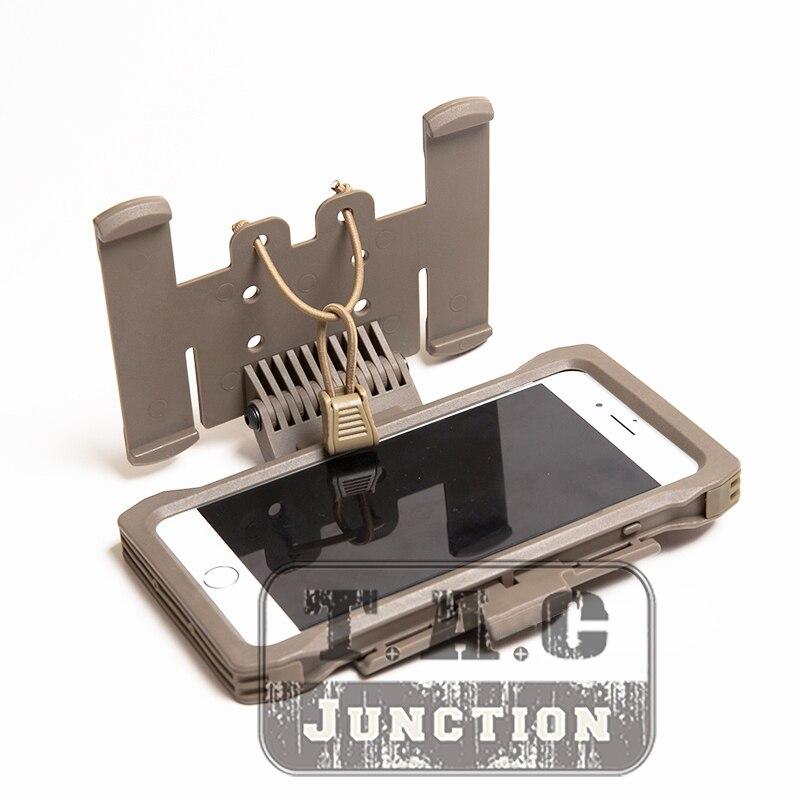 FMA tactique coque de téléphone Mobile poche MOLLE porte-équipement de chasse avec support MOLLE pour Iphone6 7 8 Plus
