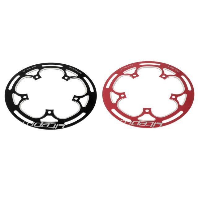 Фото folding bike  chainwheel 52/53t defend chainring protect 130bcd цена
