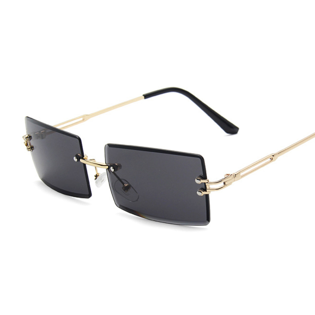 Gafas De Sol cuadradas De color rosa y morado para mujer, anteojos De Sol femeninos Retro De diseñador De marca, lentes rectangulares Vintage, pequeños 4