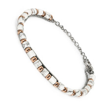 BOFEE Natural Stone Beaded Bracelet Charms Stretch Hand Chain Yoga Magnetic Trendy Custom Fashion Jewelry Gift Women Men lovers