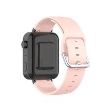 18mm faixa de relógio para xiaomi mi relógio inteligente esporte tpu pulseira de borracha correia de pulso pulseira para xiaomi mi relógio acessórios