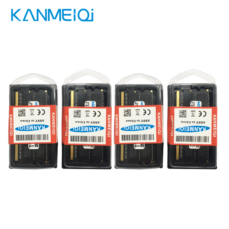 KANMEIQi DDR3 Laptop Memory With 2GB 4GB 8GB And 1333Mhz 1600MHZ 1866MHZ 5