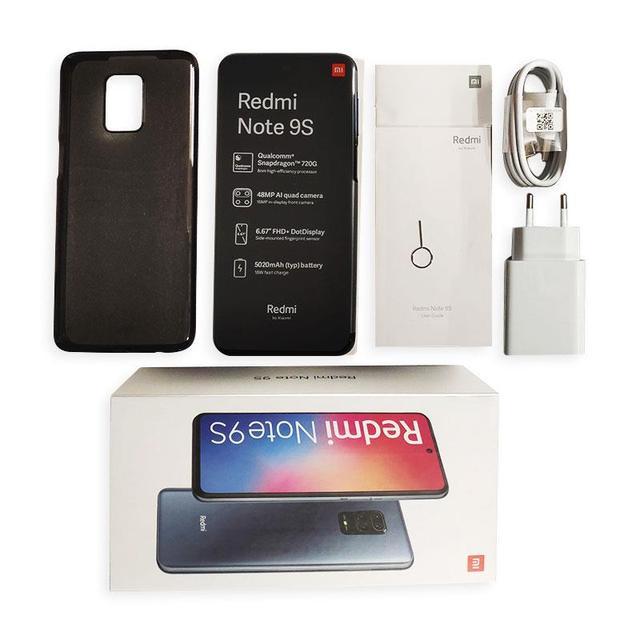 Global Version Xiaomi Redmi Note 9S 4GB 64GB /6GB 128GB smartphone Snapdragon 720G Octa core 5020 mAh 48MP Quad Camera 5