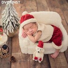 Pants Photography-Props Bonnet Christmas-Outfits-Set Shoots Fotografia Newborn-Baby Studio