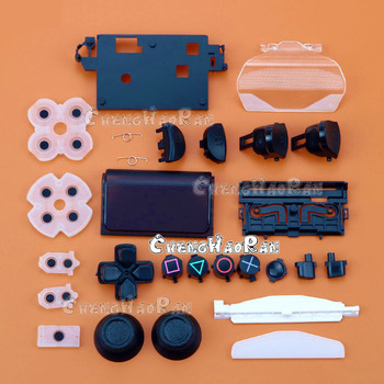 цена на 1set Full housing repair parts D-Pad Circle Square Triangle X Button set For Playstation 4 for PS4 Controller JDS-040 JDM-040
