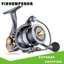 Металлическая катушка для спиннинга рыболовная с высокой скоростью