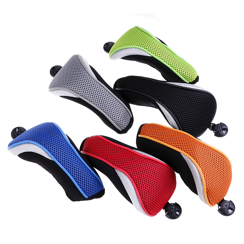 Mesh Golf Club Iron Headcovers Protective Head Cover Protector Fit for hybrid/utility club head