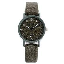 Elegant Women Watch Ladies Simple Quartz Wristwatche Female Vintage Leather Belt Brown Black Retro Chic Student Watch 2020