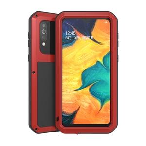 Image 3 - Металлическая броня для Samsung Galaxy A41 A20 A30 A30S A40S брызгозащищенный пыленепроницаемый ударопрочный Прочный чехол с полным покрытием для занятий спортом на открытом воздухе чехол для телефона