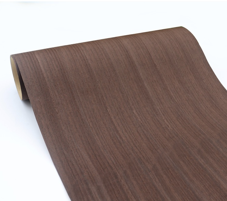L:2.5Meters Width:55cm Straight Grain Wood Veneer Furniture Veneer(back With Nonwoven Fabric)