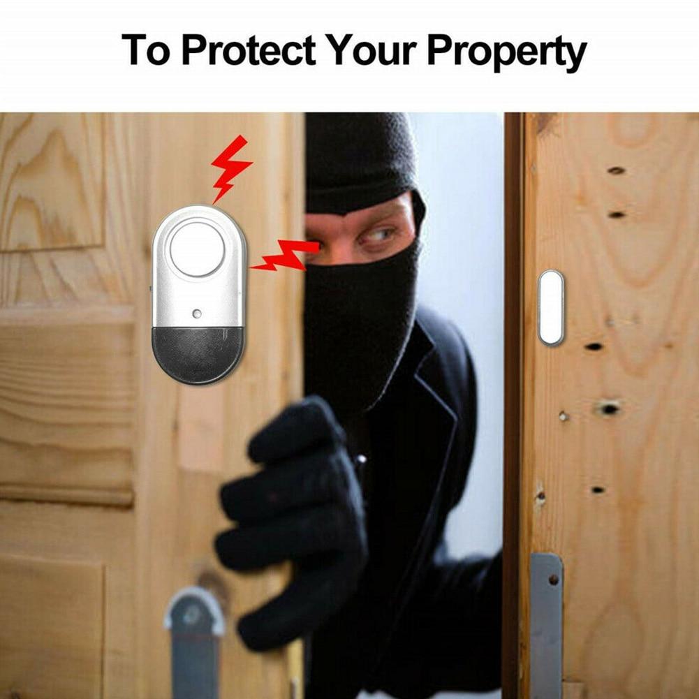 Alert Stick On System Battery Powered Warning Wireless Guard Home Magnetic Sensor Antitheft Door Window Burglar Alarm Security
