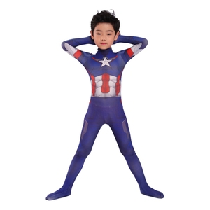 Image 5 - Thor costume kids Kids Magical Fancy Flash Man cosplay costume Spandex jumpsuit body suit for Halloween costumes free shipping