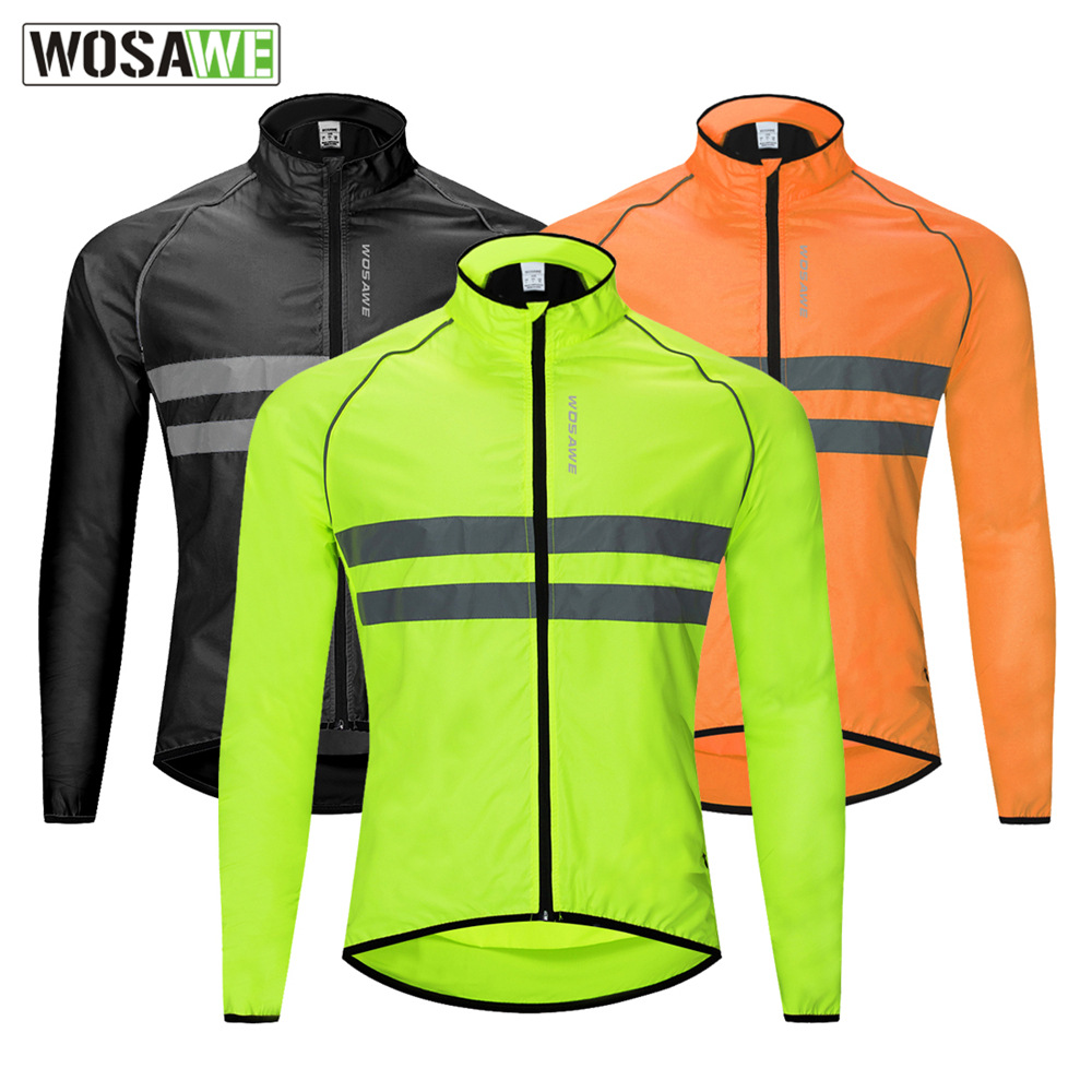 2019 Motocross Riding Windbreaker Bicycle Jersey Long-sleeved Leather Jacket Fishing Windbreaker Water Repellent Camping