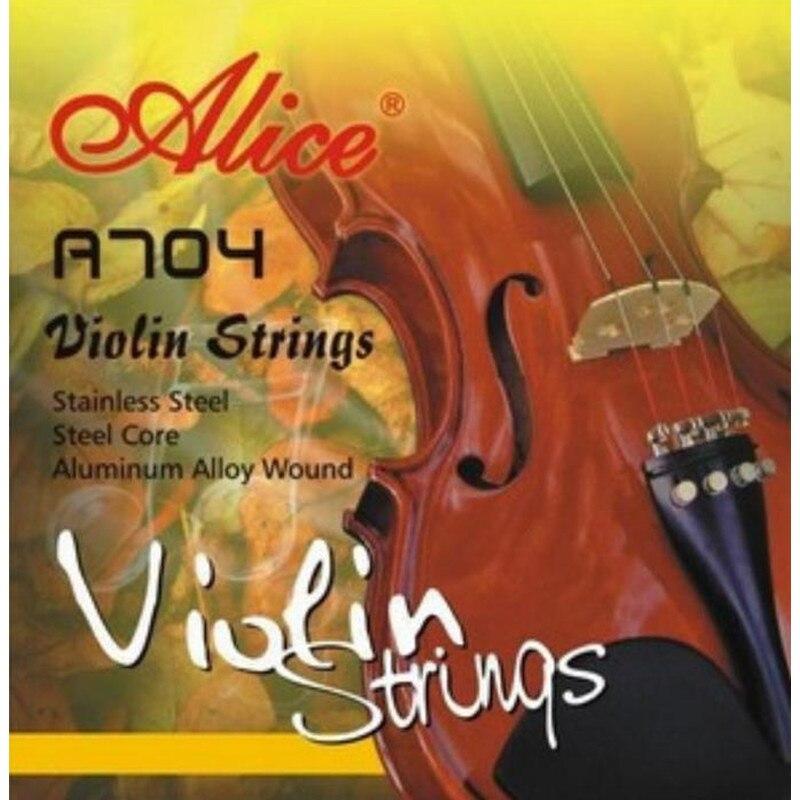A Set Of  V704 Violin Strings E A D G For Violino 1/4 1/2 3/4 4/4 Strings Violin Accessories