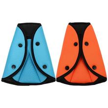 2pcs Seat Belt Fixator Detachable Cotton Safety Belt Protector For Children