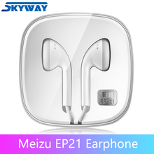 Original Meizu EP21 Earphone EP 21 Headset with Remote and Microphone for note 9 16th phones Heavy bass & High sound quality