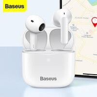 Baseus E3 TWS auricolare Wireless Bluetooth 5.0 cuffie auricolari Wireless veri per iPhone 12 Pro Max auricolari vivavoce