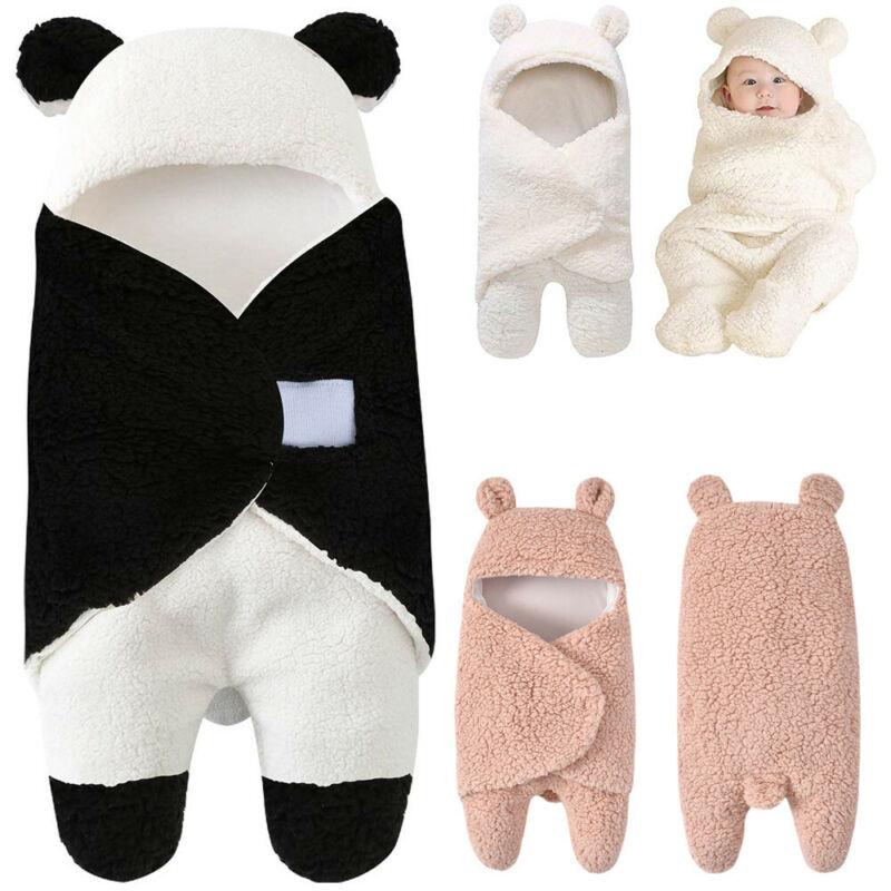 Panda Winter Autumn Newborn Baby Blanket Swaddle Sleeping Bag Kids Toddler Stroller Sleeping Bags