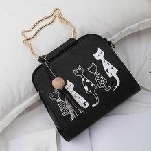 Bolsas femininas gato coelho padrão animal ombro mensageiro saco de viagem casual selvagem crossbody bolsa mujer bolsas femininas #40