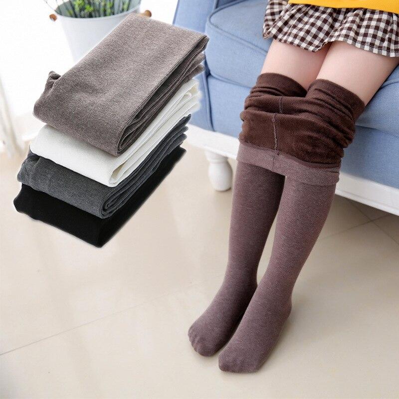 Girls Leggings Grils Winter Autumn Warm Plus Velvet Thick Pants Girl Trousers High Quality Fashion And Comfortable Kids Leggings