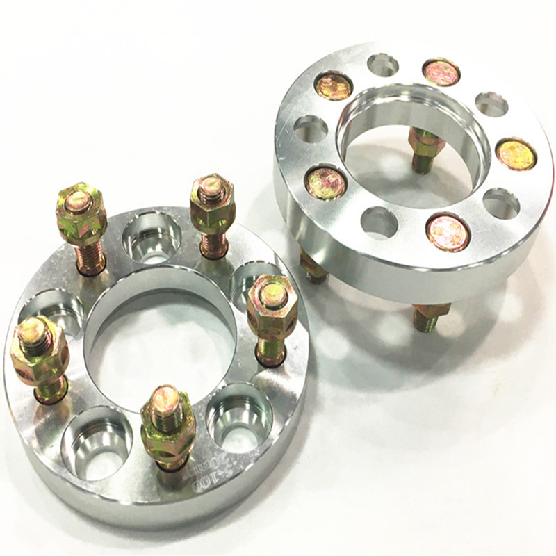(2PC) 5x5.5'' Wheel spacers pneus de carro <font><b>5x139.7</b></font> spacer for Sorento Jimny Auto accessoris Aluminum Wheel Adapters image
