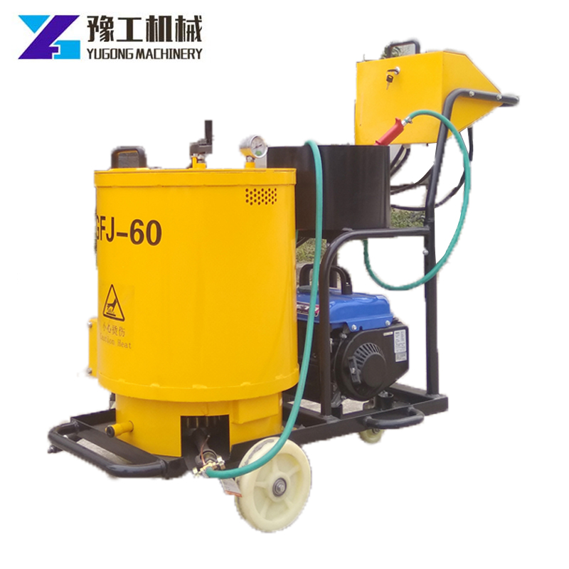 60L100L Large Capacity Grouting Machine Hand Push Type Asphalt Cement Surface Crack Caulking Machine With High Efficiency