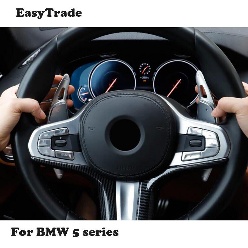 Palette de volant de voiture en métal prolonger le remplacement de manette de vitesse pour BMW bmw 5 f10 2018 accessoires de décoration intérieure de voiture