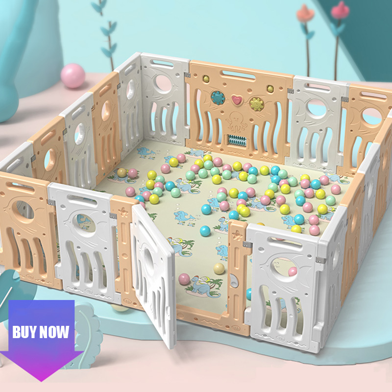 Children's Playground Home Indoor Baby Small Game Fence Kids Crawling Mat Fence Multi-functional Combination Playpens