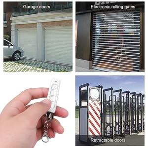 Image 4 - KEBIDU 433MHZ télécommande porte de Garage ouvre porte télécommande clonage Code voiture clé duplicateur Clone 12V émetteur plus récent