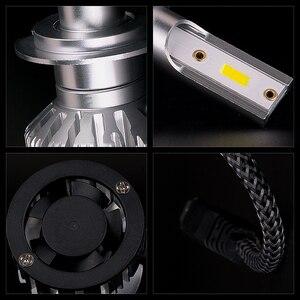 Infitary Car H7 H4 светодиодные фары H1 H3 H11 H13 HB3 HB4 9005 9006 9007 6500K 12V 72W лед Диодная лампа авто противотуманные лампочки
