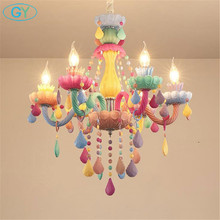 Free Shipping Crystal Chandelier Living Room Colorful Crystal Chandelier Hanging Lights Fixture Wedding Decoration Pendant Lamp newly free shipping 100 240v romantic brass chandelier copper chandelier pendant k9 golden crystal penadnt lamp 100