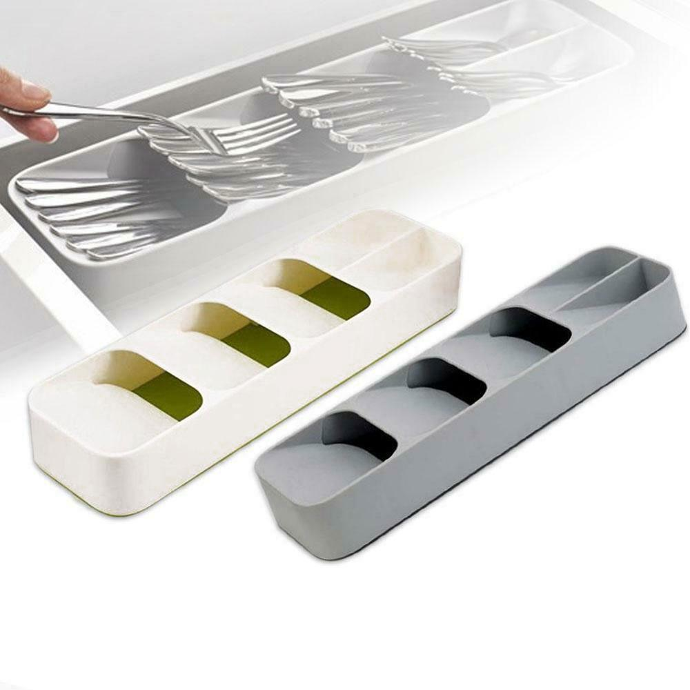 Kitchen Drawer Organizer Tray Spoon Cutlery Separator Home Storage Box Kitchen Storage Organization Support Drop Shipping