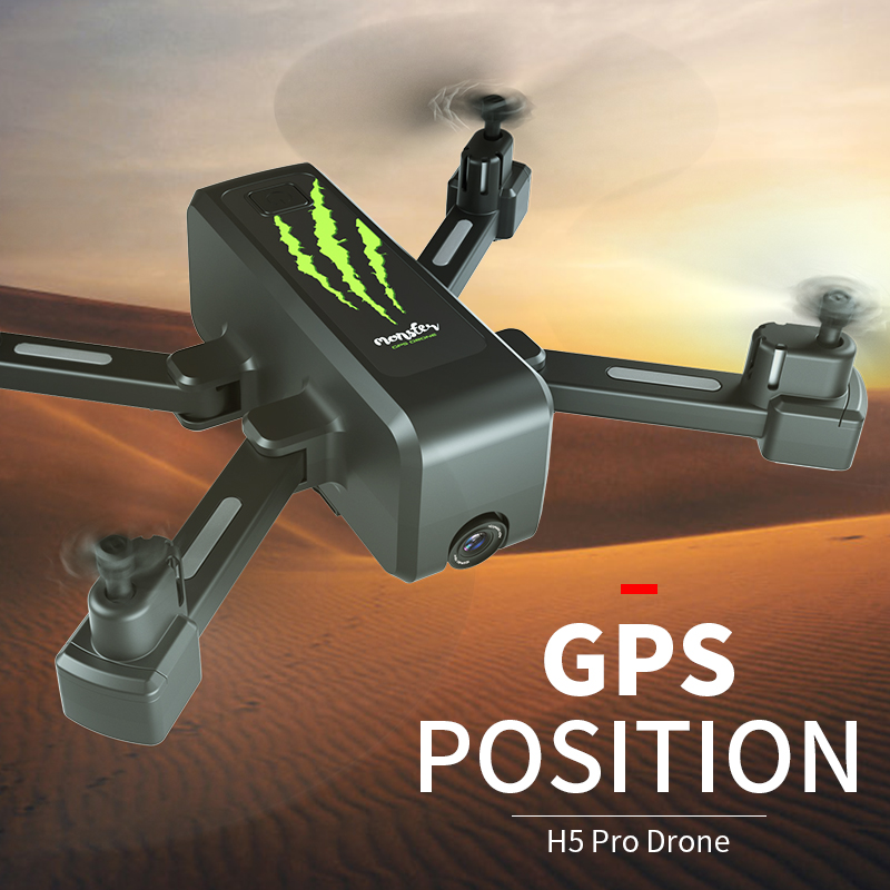 SHAREFUNBAY drone GPS 4K HD 5G WIFI FPV drone ESC camera height keep flight for 20 minutes distance control 1
