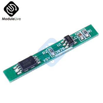 1S 3.7V 2.5A Lithium Battery Protection Board Polymer BMS PCM PCB Over Charge Discharge Li-ion Protect Module image